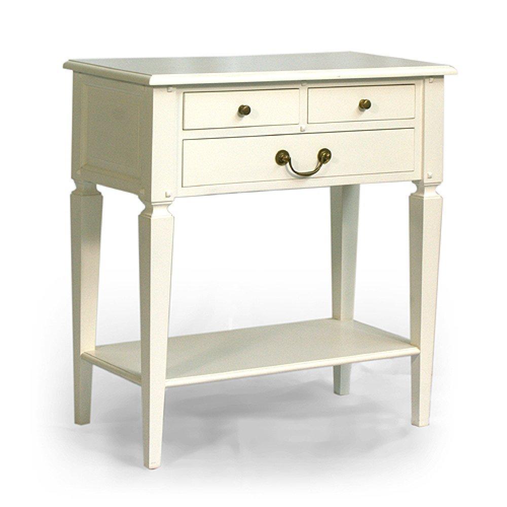 Bílý konzolový stolek Provence