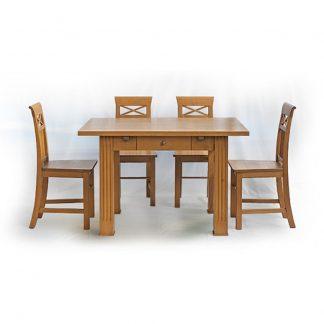 Rustikální stoly a stolky Mlčenlivá rodina…