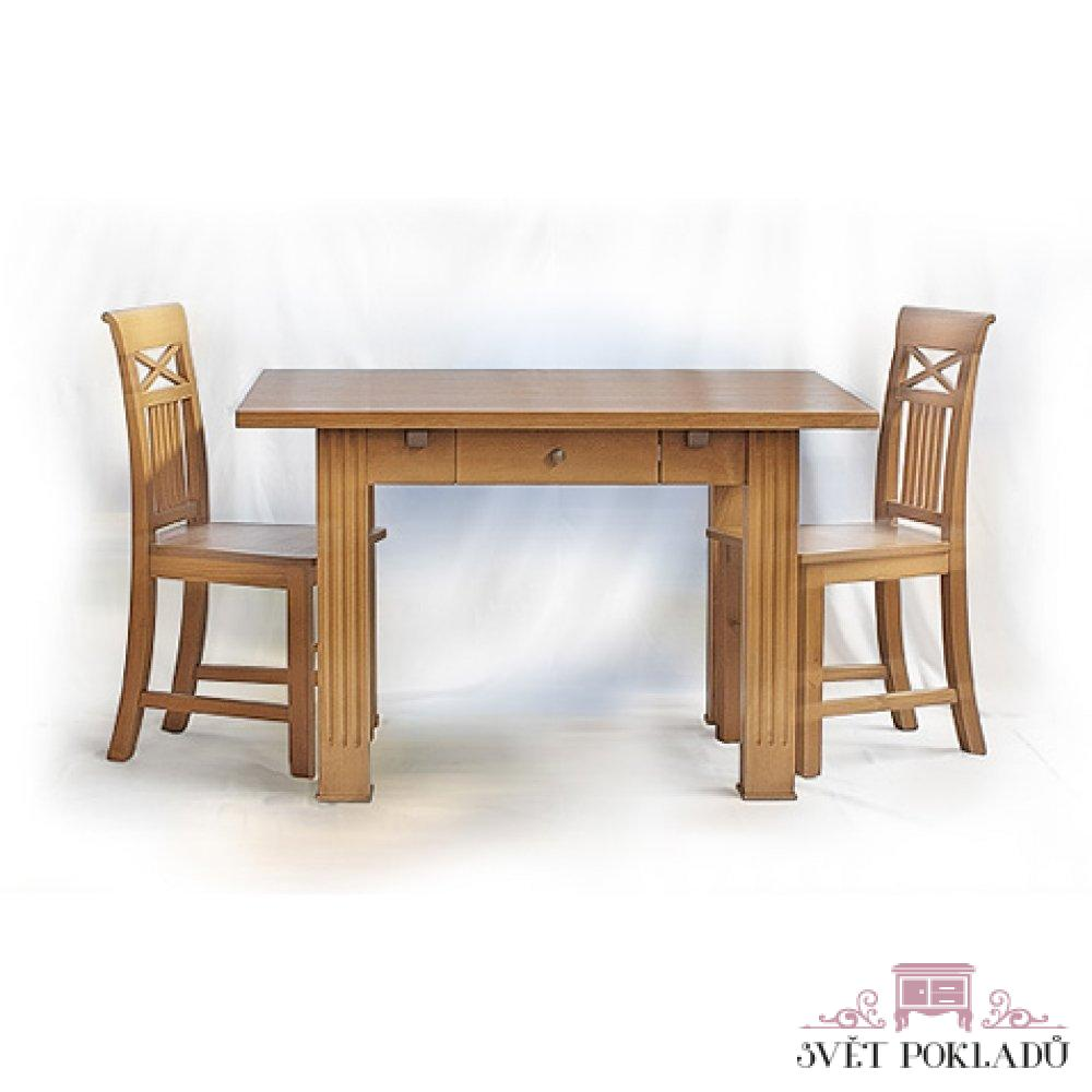 stůl a židle ve středomořském stylu
