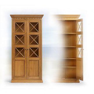 Knihovny a vitriny v rustikálním stylu Strážkyně moudrosti středomoří…