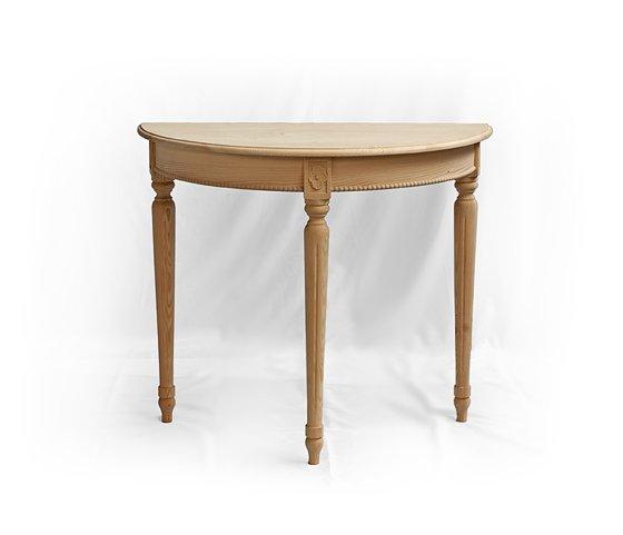 stolek z masivní třešně Svět pokladů