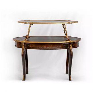 vykládaný rokokový stolek replika Svět pokladů