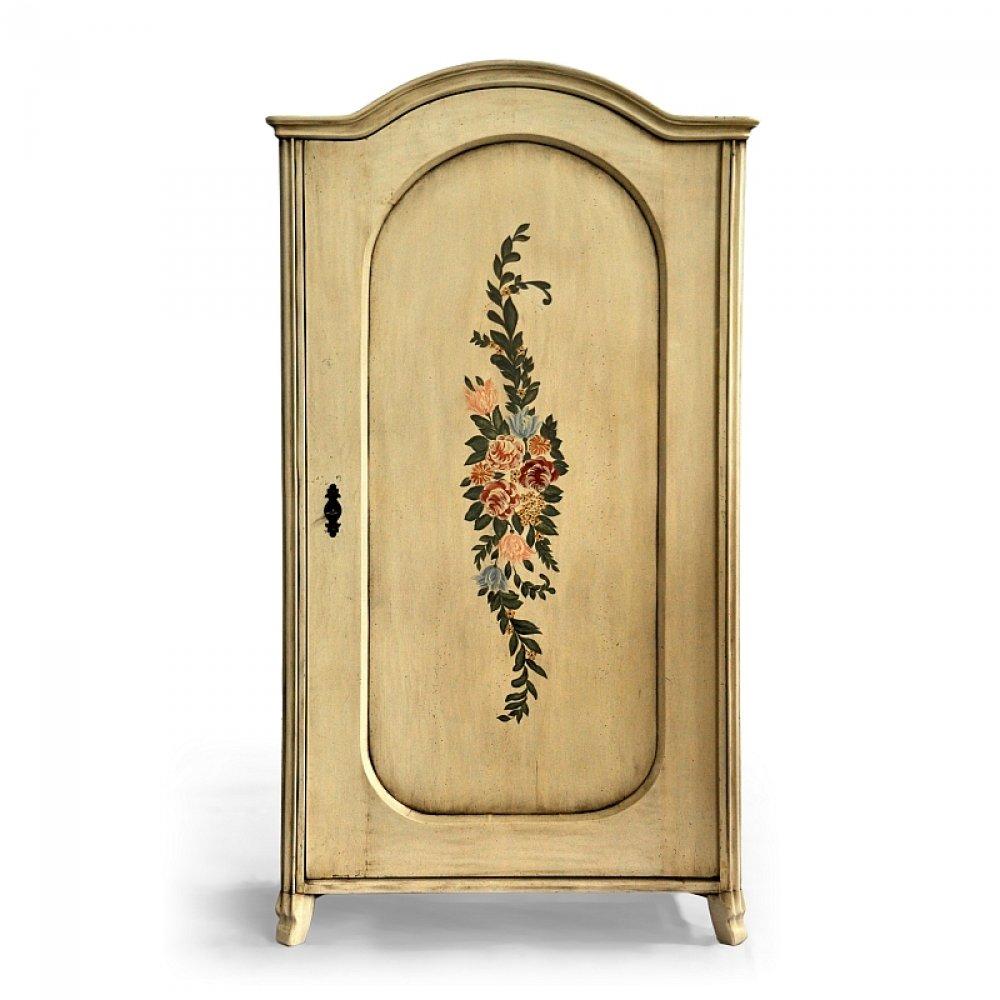 malovaná skříň z masivu Svět pokladů