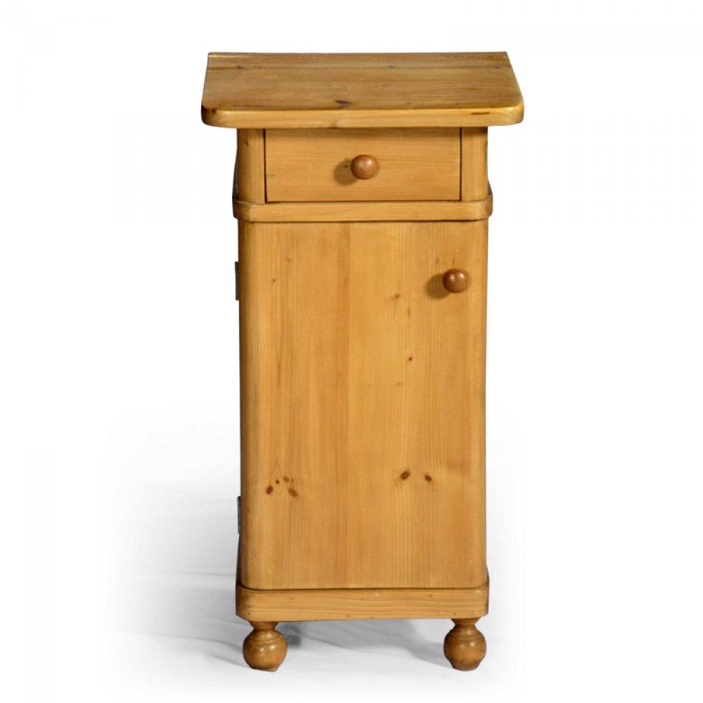 noční stolek z masivu Svět pokladů