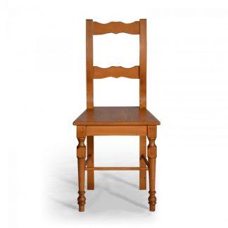selská židle z masivu Svět pokladů