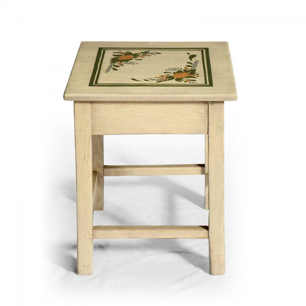 """Malovaný a barvený nábytek Malovaná originální stolička ve stylu """"Le Florac"""""""