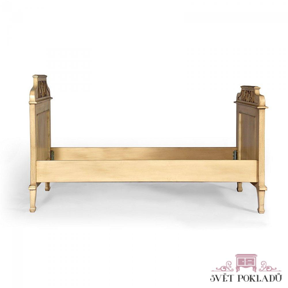 Malované postele a nábytek do ložnic Dubová originální postel