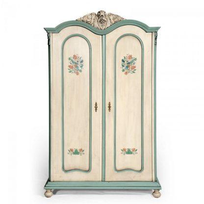 Malovaná šatní skříň ze série Berdie