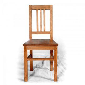ručně vyrobená smrková židle