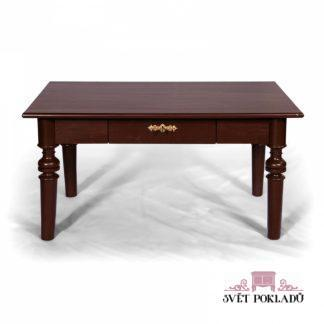 kávový konferenční stolek z masivu