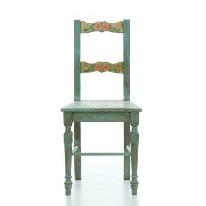 Židle malovaná.