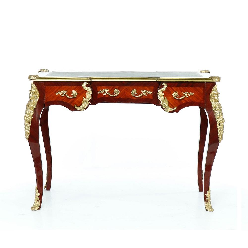 vykládaný psací stůl Svět pokladů