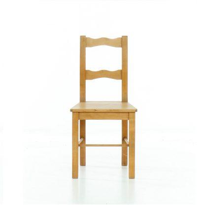 Židle z masivního smrku