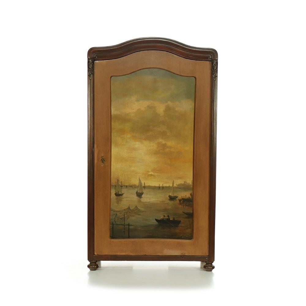 jednodveřová malovaná skříň Svět pokladů