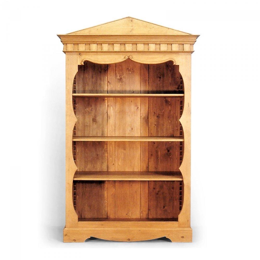 policová skříň regál z masivu Svět pokladů