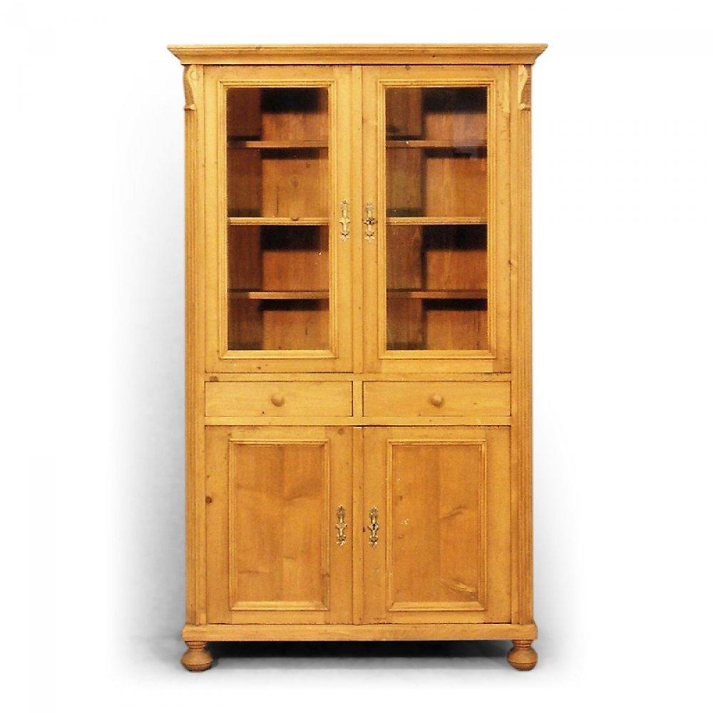 Tradiční selský nábytek Dvoudveřová knihovna se dvěma zásuvkami
