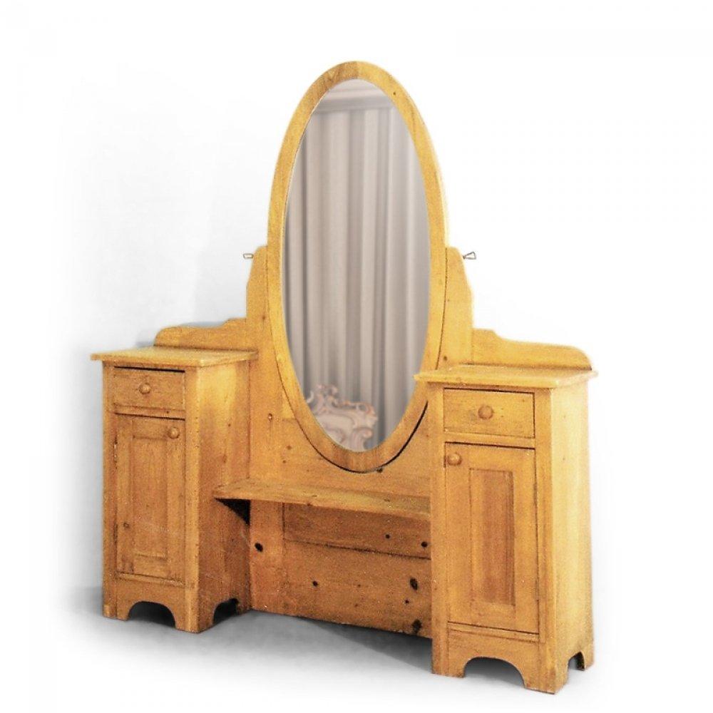 Replika toaletky se zrcadlem