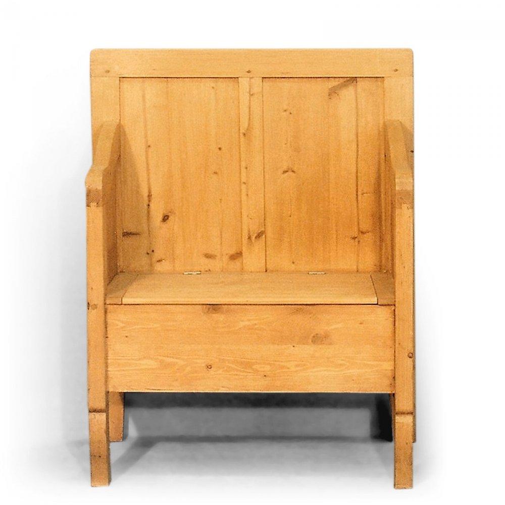 Tradiční selský nábytek Lavice s úložným prostorem