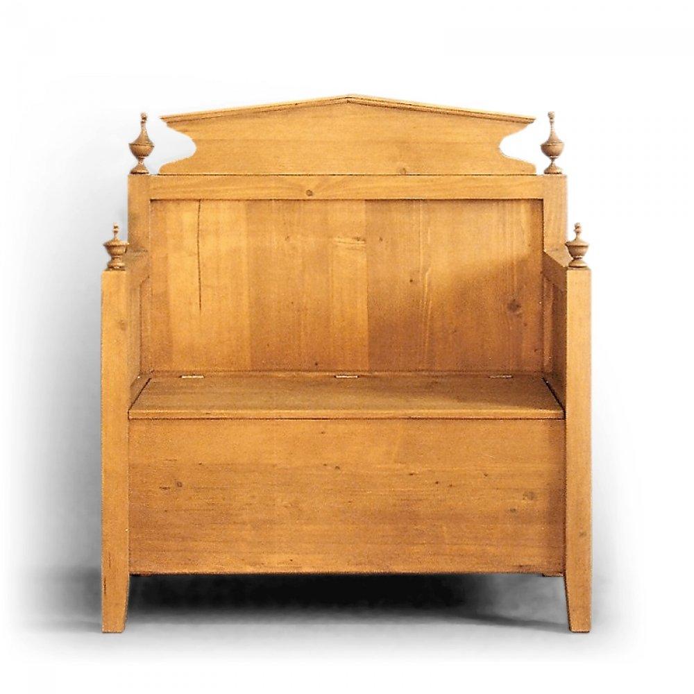 Tradiční selský nábytek Lavice s úložným prostorem pod sedákem