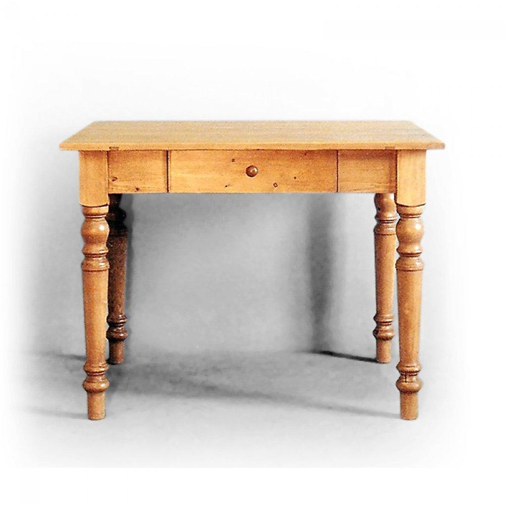 Stoly a stolky Soustružený stůl z masivního smrku