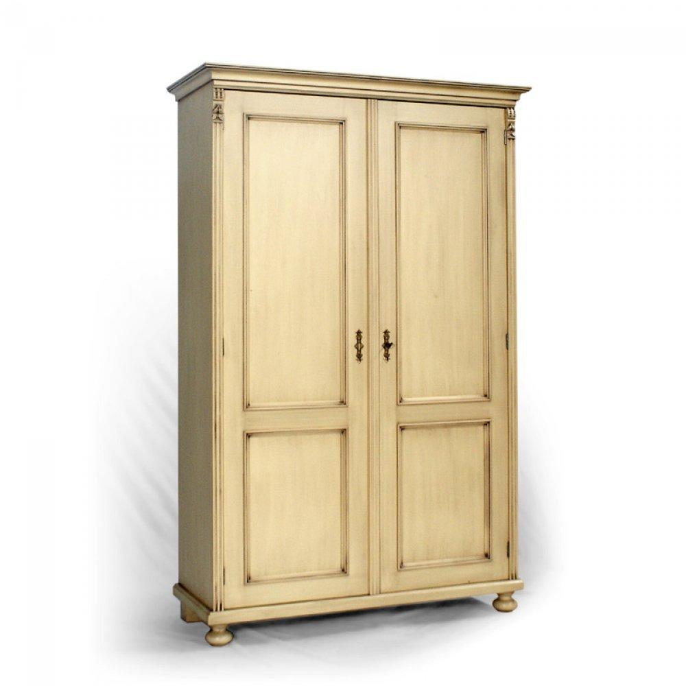 dvoudveřová skříň z masivu Svět pokladů
