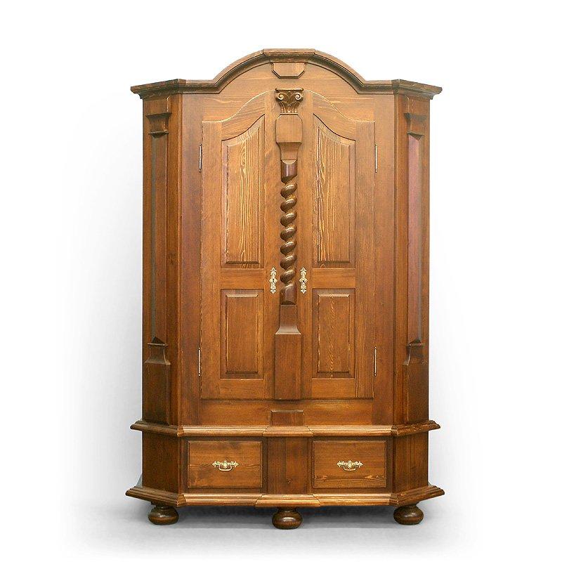 Velká barokní skříň z masivu Svět pokladů