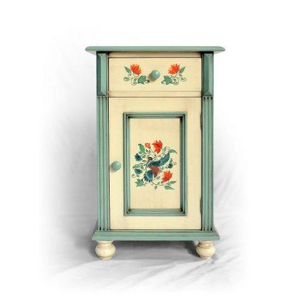 Malovaný noční stolek z kolekce
