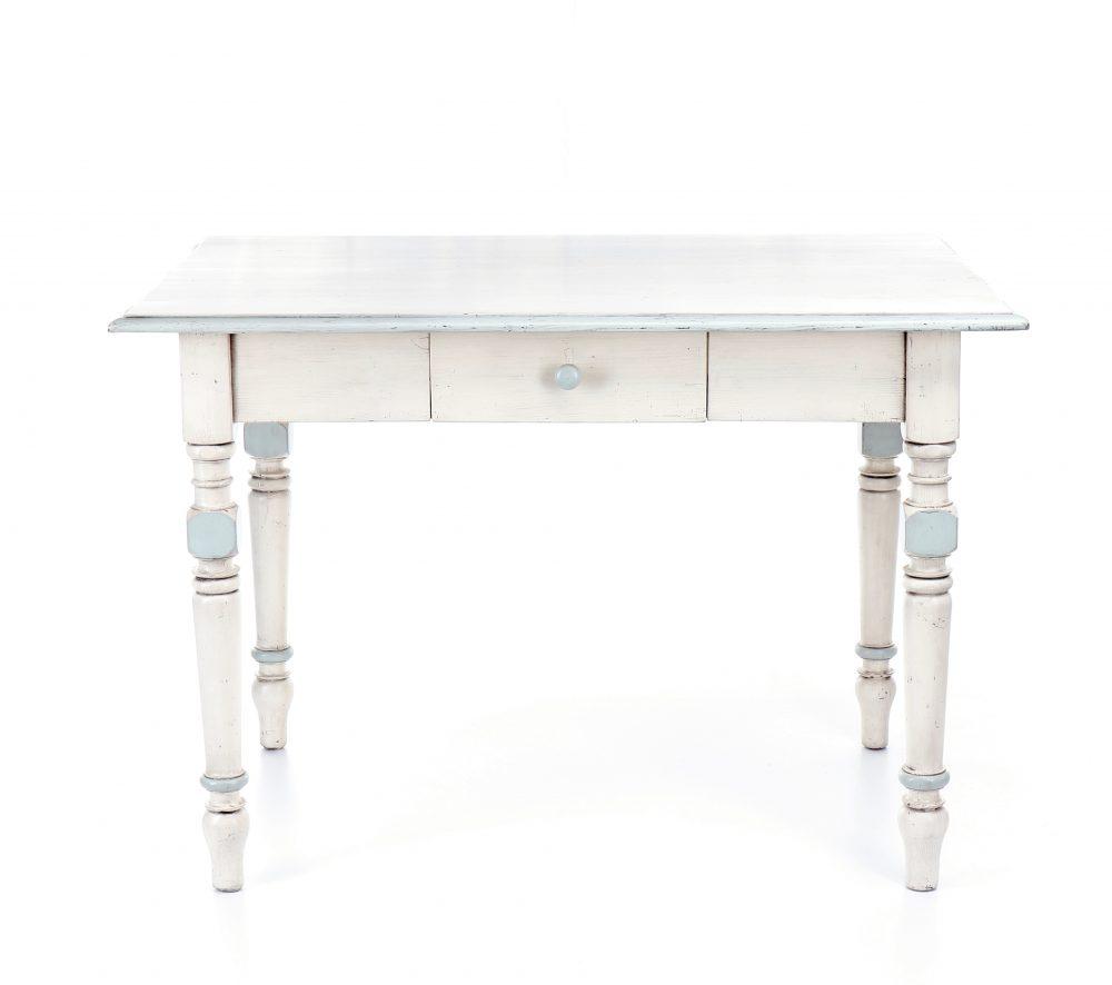 Malované stoly a stolky Jídelní starožitný stůl.