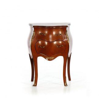 Malá dýhovaná komoda noční stolek Svět pokladů