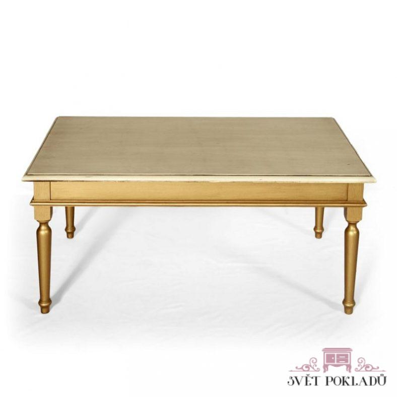 Malované stoly a stolky Kávový stolek.