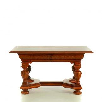 neorenesanční stůl z masivu svět pokladů