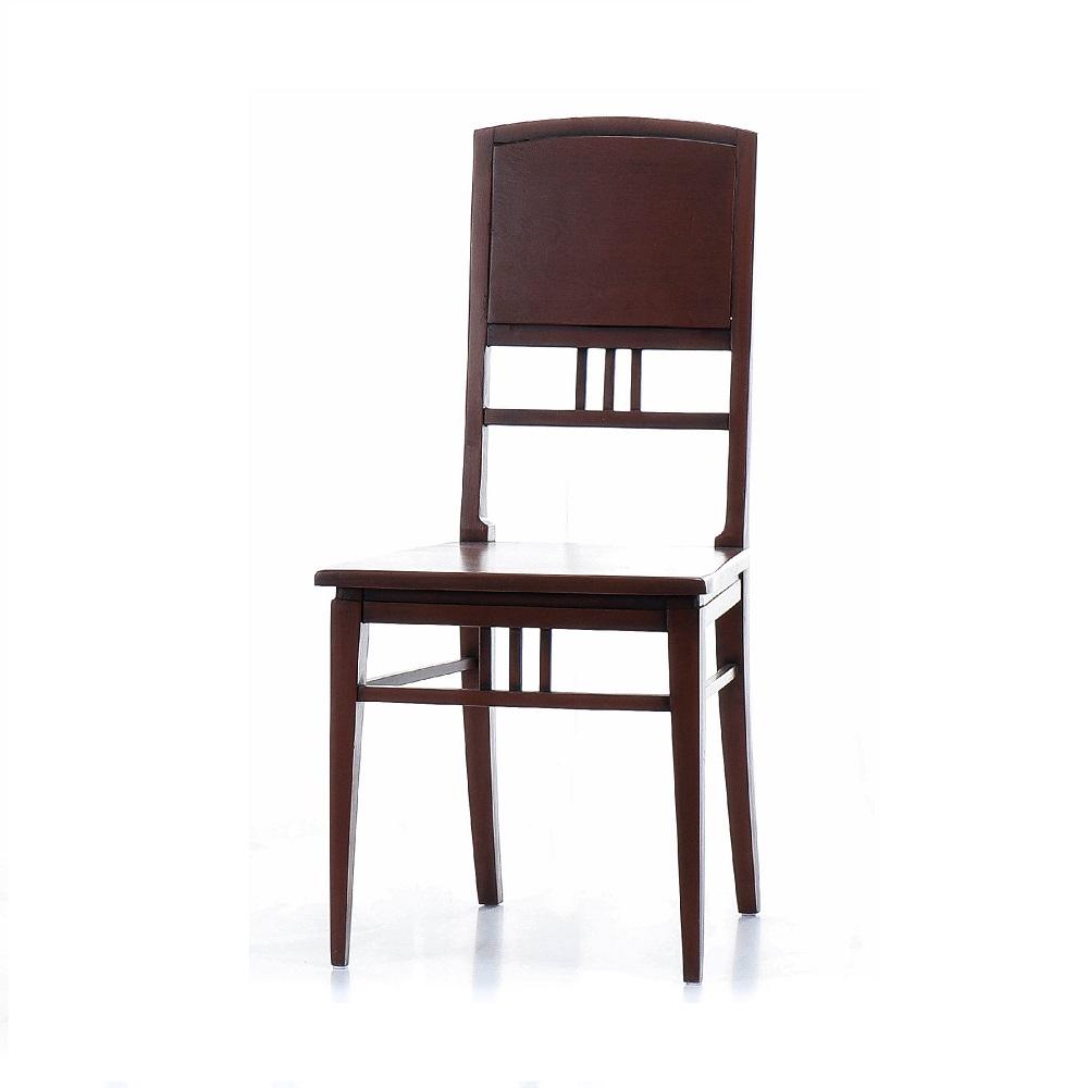 Hnědá židle z dvacátých let minulého století