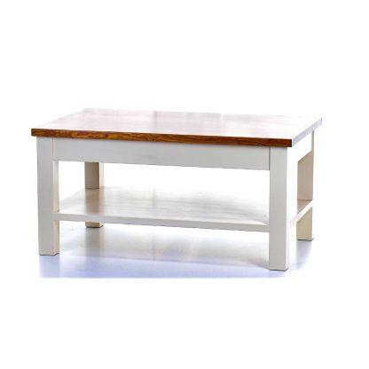 Kávový stolek z masivního smrkového dřeva