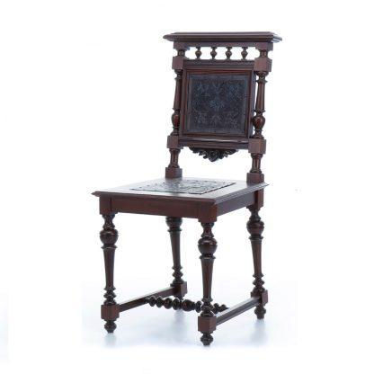 Sada šesti unikátních, naprosto zachovalých židlí z období Historismu.