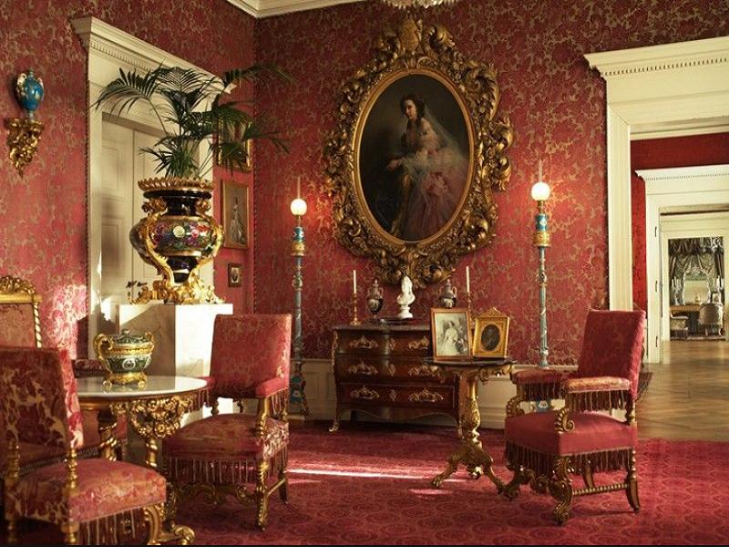 zámecký nábytek Svět pokladů