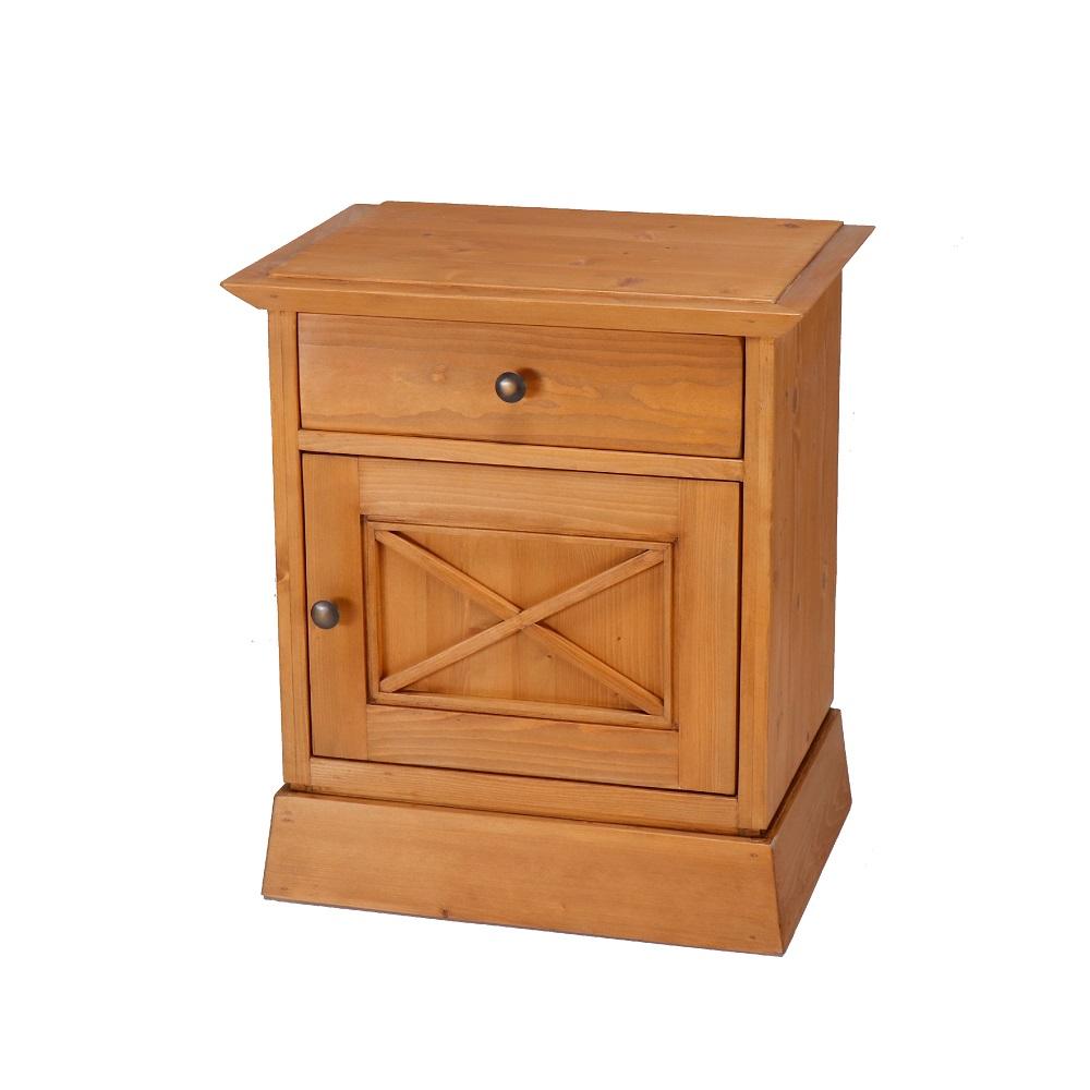 noční stolek z masivního dřeva svět pokladů