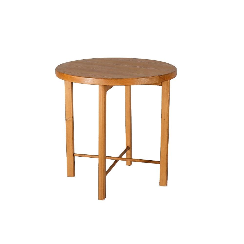 Stůl kulatý z masivu Svět pokladů