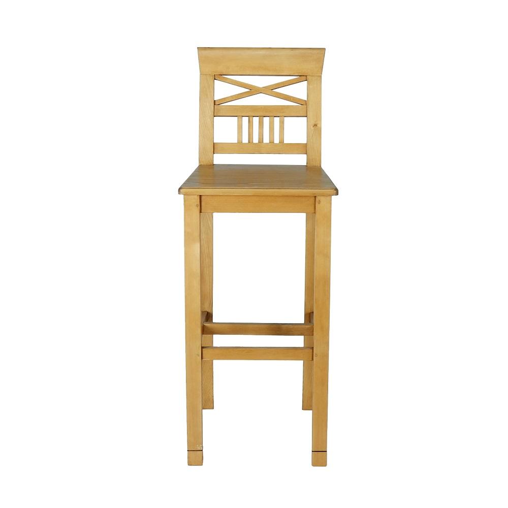 vysoká židle z masivu Svět pokladů
