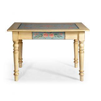Malované stoly a stolky Selský malovaný stůl.