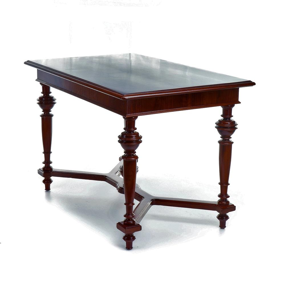 dýhovaný starožitný stůl Svět pokladů