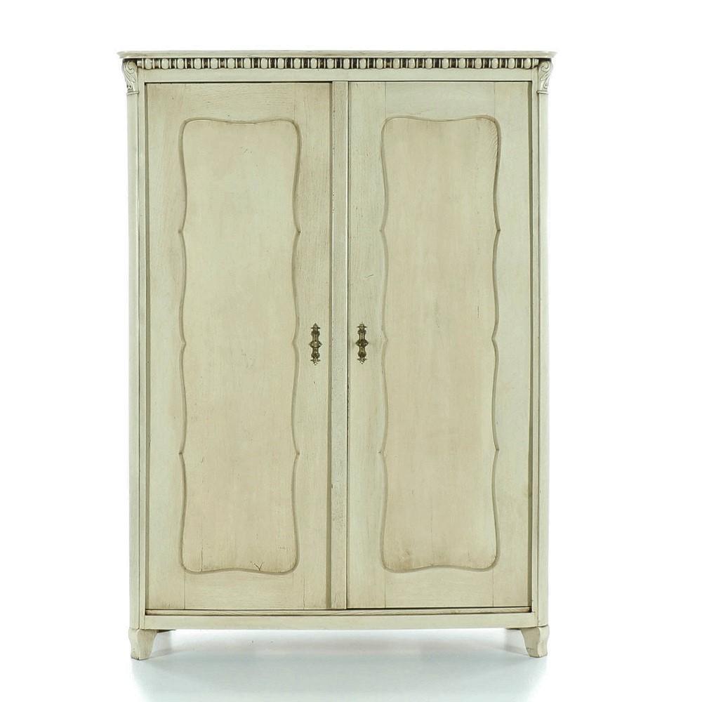 bílá šatní skříň z masivu Svět pokladů