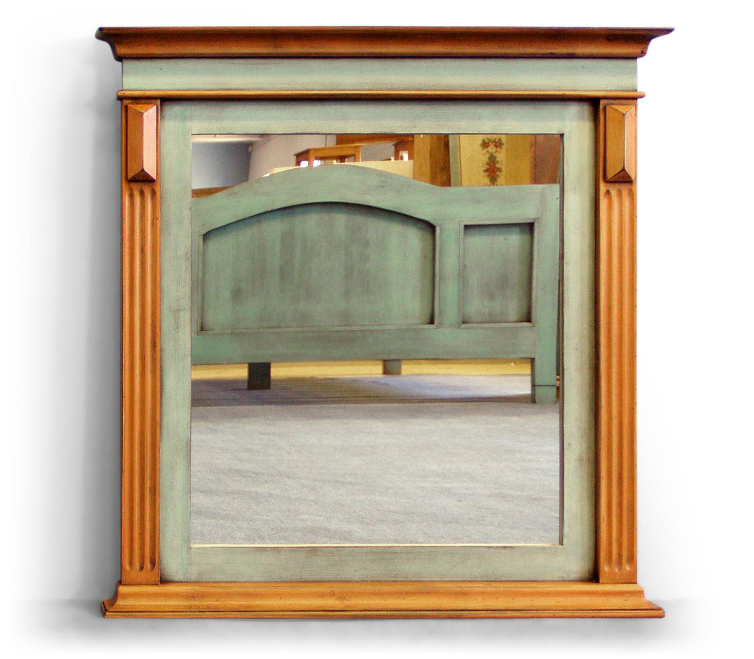 Malované zrcadlo Svět pokladů