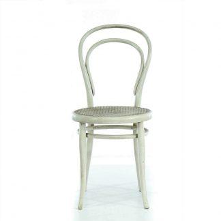 bílá thonet židle Svět pokladů