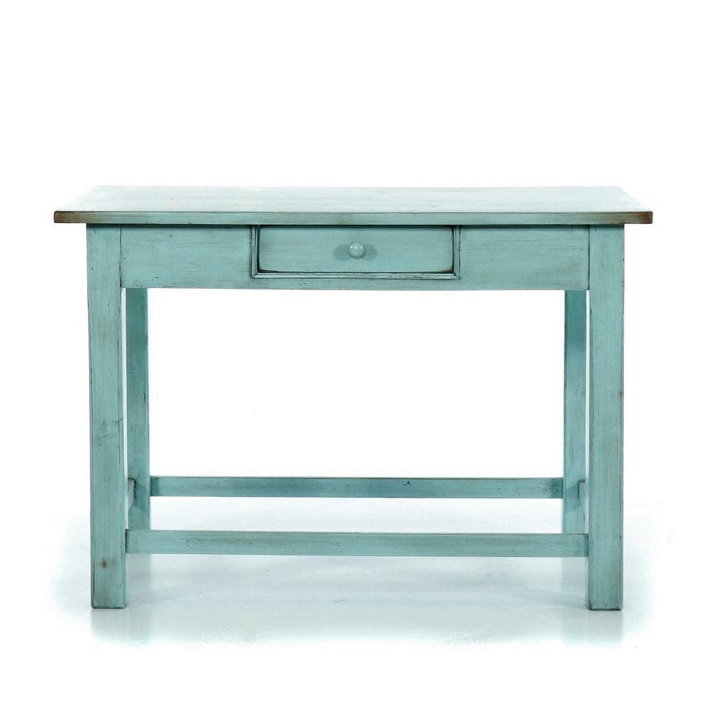 Modrý stůl z masivu Svět pokladů