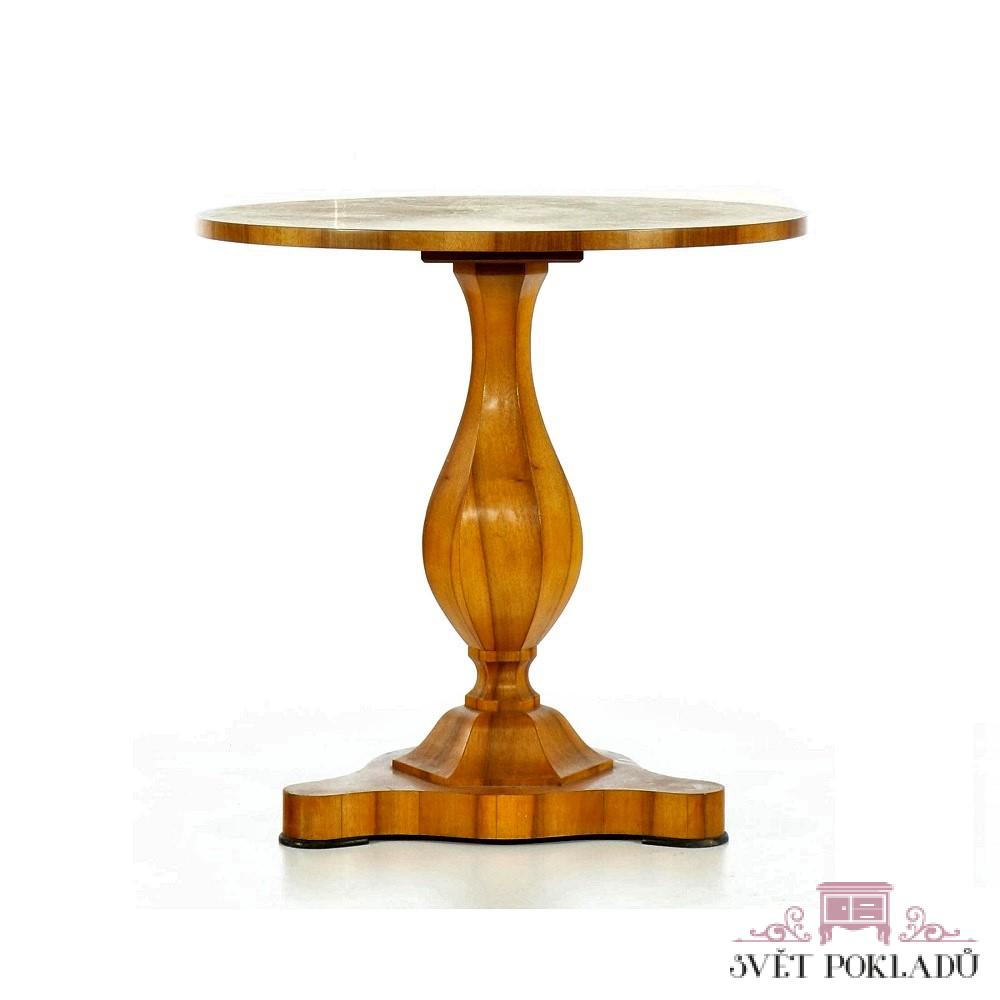 kopie stolu Biedermeier Svět pokladů