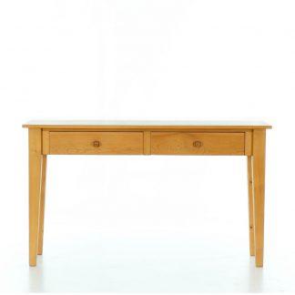 Stůl z masivního smrkového dřeva za pohovku