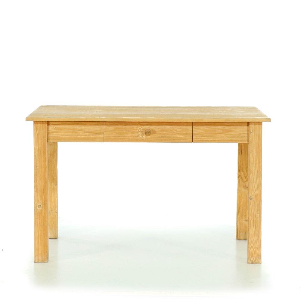 Stoly a stolky Velký jídelní stůl se soustruženými nohami.