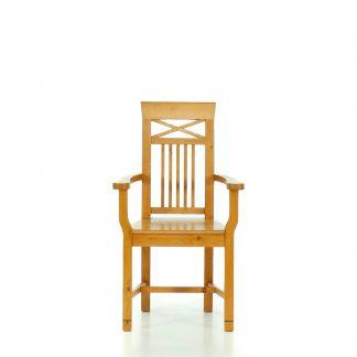 Středomořský a rustikální nábytek Židles područkami ve středomořském stylu.