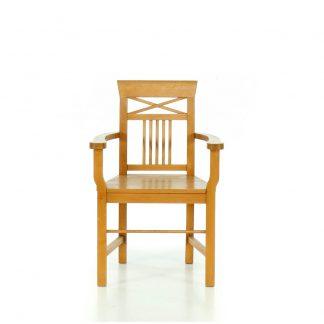 židle rustikální z masivu Svět pokladů