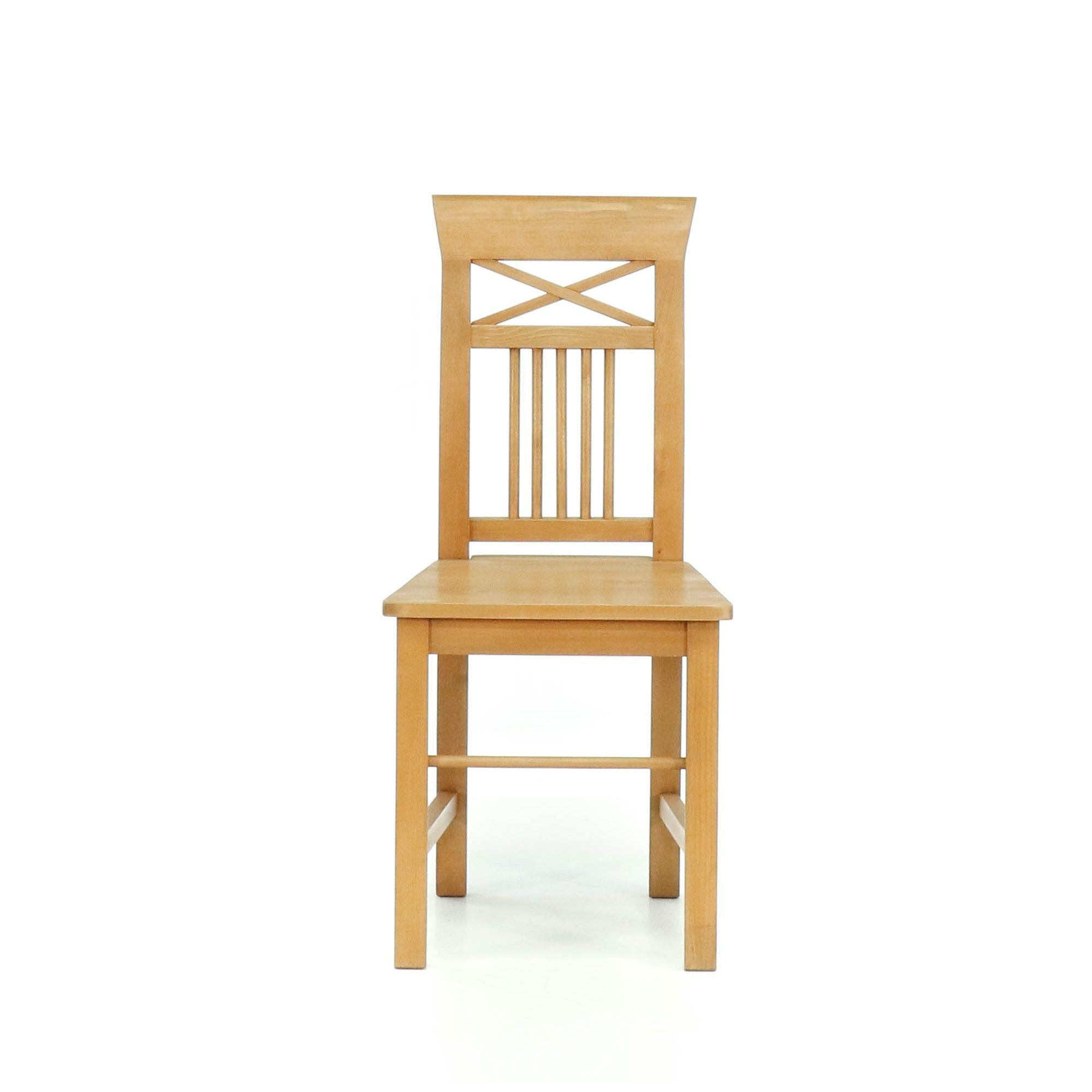 Rustikální židle z masivu Svět pokladů
